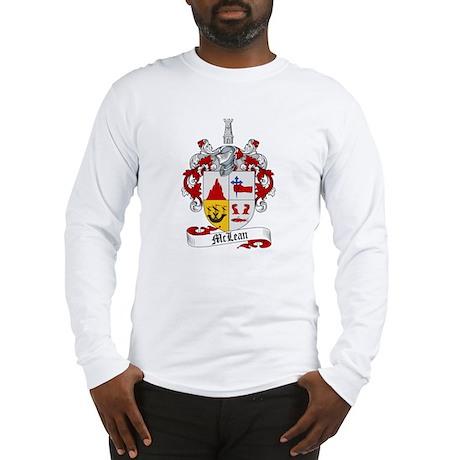 McLean Family Crest Long Sleeve T-Shirt