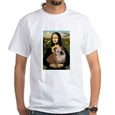 Mona Lisa & English Bulldog Shirt