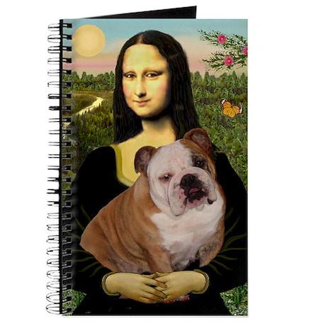 Mona Lisa & English Bulldog Journal