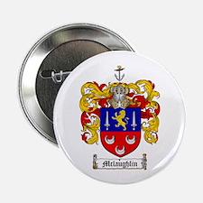 "McLaughlin Family Crest 2.25"" Button (100 pack)"