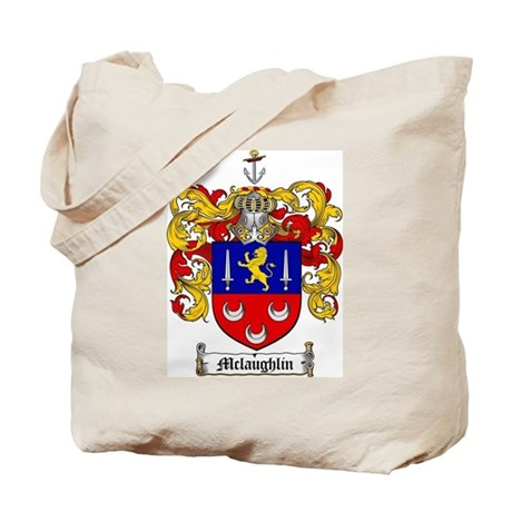 McLaughlin Family Crest Tote Bag