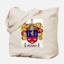 McLaughlin Family Crest Tote Bag