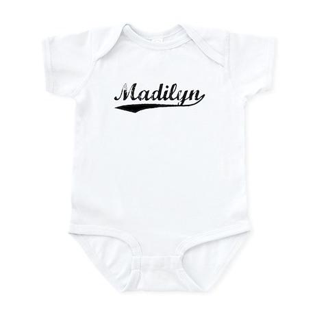 Vintage Madilyn (Black) Infant Bodysuit