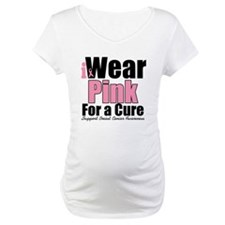 I Wear Pink For a Cure Shirt