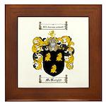 McKnight Family Crest Framed Tile