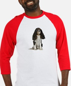Cavalier King Charles Picture - Baseball Jersey