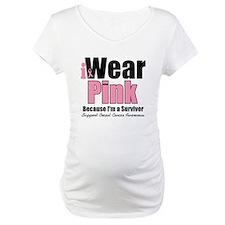 I Wear Pink Survivor Shirt