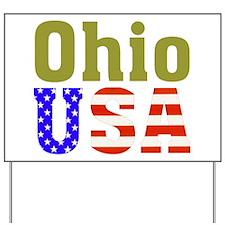 Ohio USA Yard Sign
