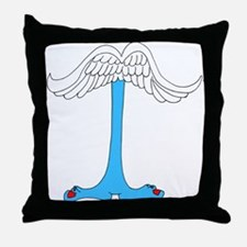 Monster Letter I Throw Pillow