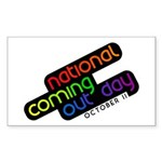 NCOD Rising Rectangle Sticker 10 pk)