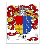 Otto Family Crest Small Poster