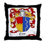 Otto Family Crest Throw Pillow