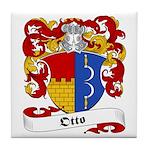 Otto Family Crest Tile Coaster