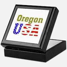 Oregon USA Keepsake Box