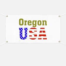 Oregon USA Banner