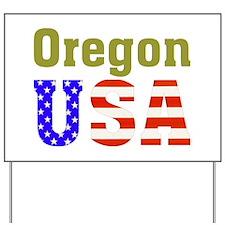 Oregon USA Yard Sign