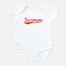 Vintage Jazmyn (Red) Infant Bodysuit
