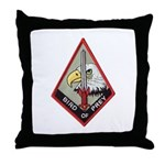 Bird of Prey Throw Pillow
