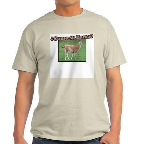 Como Se Llama? Light T-Shirt