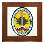 Russian DEA Framed Tile