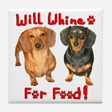 Will Whine Tile Coaster