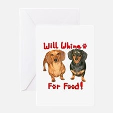 Will Whine Greeting Card