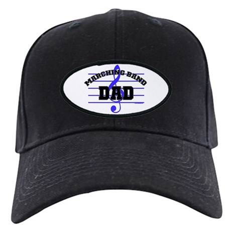 Marching Band Dad Black Cap