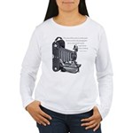 Anderson Camera Quote Women's Long Sleeve T-Shirt