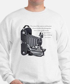 Anderson Camera Quote Sweatshirt
