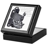 Camera Square Keepsake Boxes