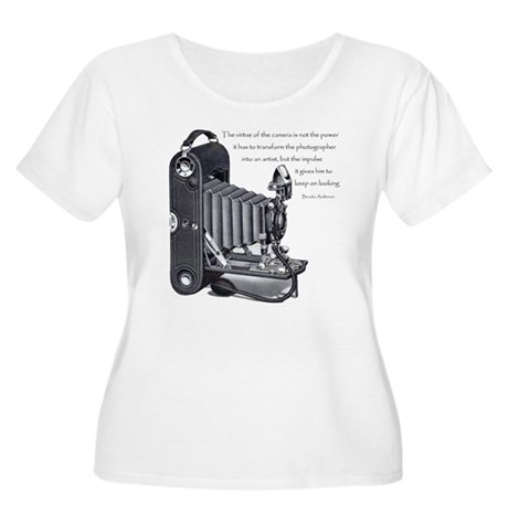Anderson Camera Quote Women's Plus Size Scoop Neck