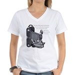 Anderson Camera Quote Women's V-Neck T-Shirt