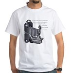Anderson Camera Quote White T-Shirt