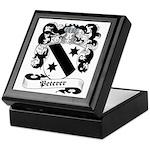 Peterer Family Crest Keepsake Box