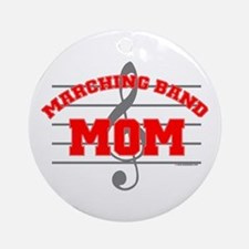 Marching Band Mom Ornament (Round)