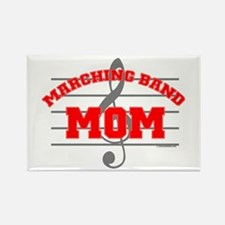 Marching Band Mom Rectangle Magnet