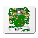 Pfeiffer Family Crest Mousepad