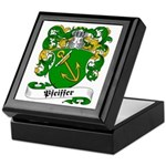 Pfeiffer Family Crest Keepsake Box