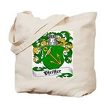 Pfeiffer Family Crest Tote Bag