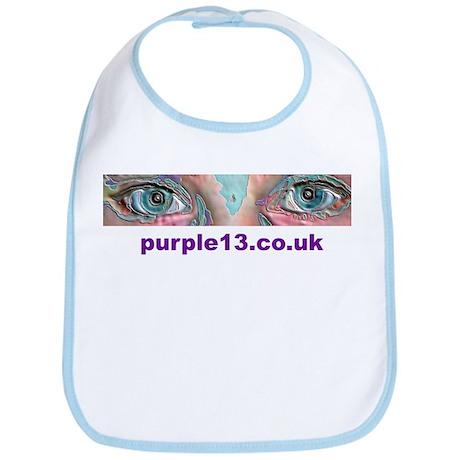 'Eyes' Logo Bib