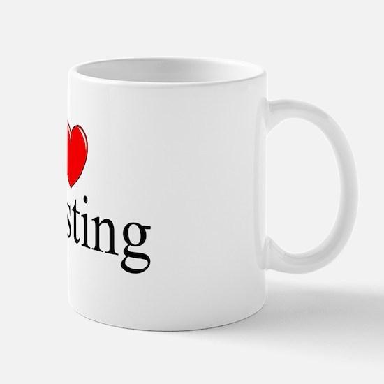 """I Love (Heart) Investing"" Mug"