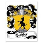 Pichler Family Crest Small Poster