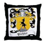 Pichler Family Crest Throw Pillow
