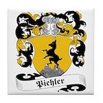 Pichler Family Crest Tile Coaster