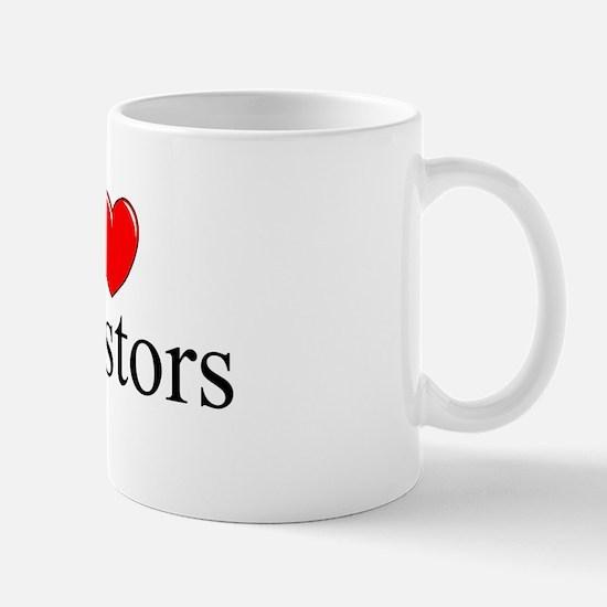"""I Love (Heart) Investors"" Mug"