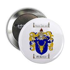 """McKenzie Family Crest 2.25"""" Button (100 pack)"""