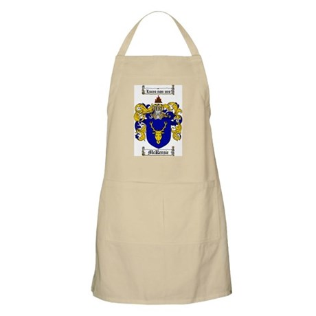 McKenzie Family Crest BBQ Apron