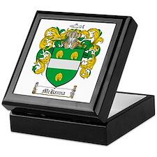 McKenna Family Crest Keepsake Box