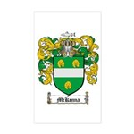 McKenna Family Crest Rectangle Sticker