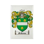 McKenna Family Crest Rectangle Magnet (10 pack)